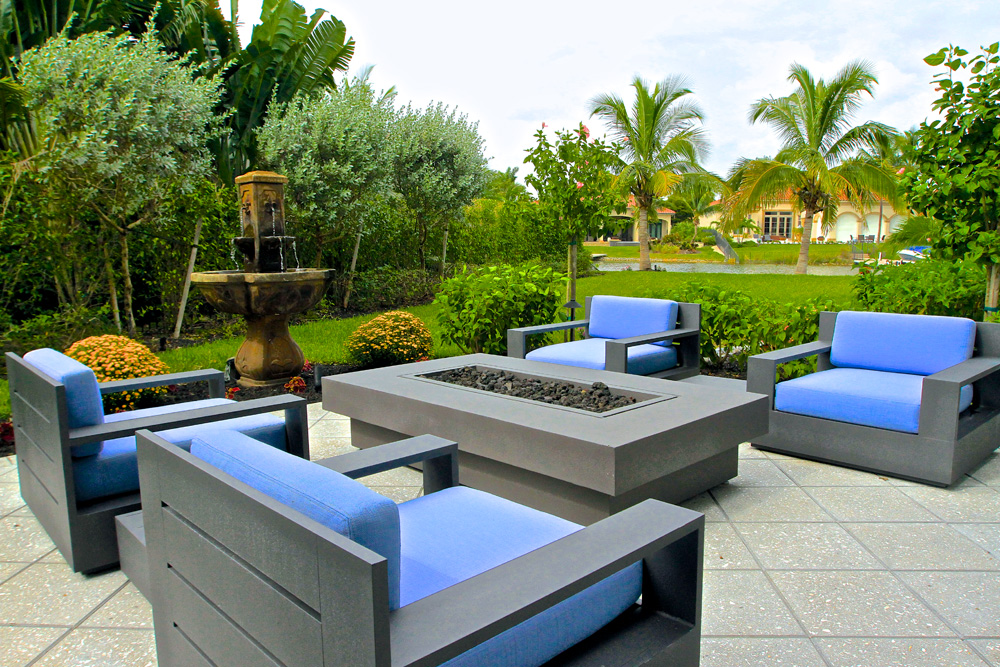 coastal contemporary patio